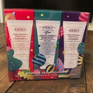 NWT Kiehl's Hand Cream -3 pack